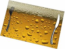 Singledog Placemat Beer Placemats Colorful