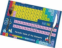 Singledog Placemat Periodic Table Elements