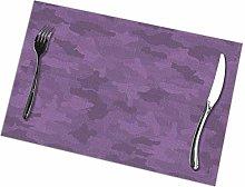 Singledog Placemat Purple Placemats Colorful