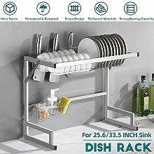 Sink Drainer Dish Drying Rack Kitchen Shelf