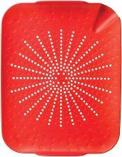 sinkstation Revolutionary Flat Colander, Red