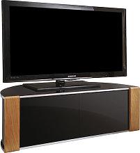 Sinter Corner TV Stand In High Gloss Piano Black