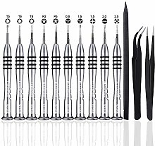 SIQUK 13 Pcs Pentalobe Screwdriver Tool Kit