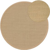 Sisal Rug Sana Cream ø 150 cm round - Plain