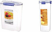 Sistema 1450ZS Cereal Storage Container, Blue