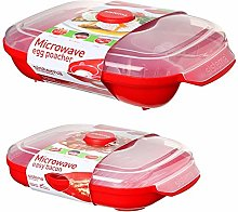 Sistema Microwave Egg Poacher for Up to 4 Eggs and