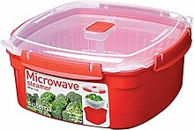 Sistema Microwave Large Steamer with Removable