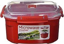 Sistema Microwave Medium Steamer with Removable