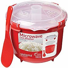 Sistema Red Rice Microwave Multicooker Steamer 2.6