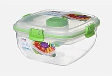 Sistema - Salad Max To Go Food Storage Box - 1.3 L