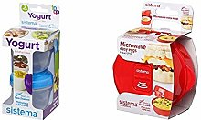 Sistema Yogurt to Go Round Containers, 150 ml -