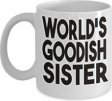 Sister Mug Gift for Sister from Brother or Sister