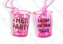 Sister of The Bride Shot Glass Hen Night