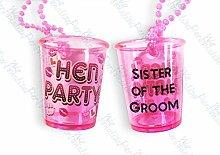 Sister of The Groom Shot Glass Hen Night