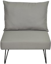 Sit Lounge Chair Happy Barok Upholstery: Grey