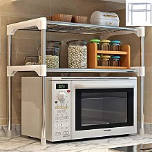 SITAKE Microwave Shelf Stand, 2-Tier