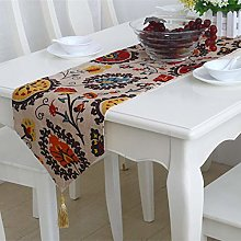 SIWANG Table Runner,Bohemian Cotton And Linen Sun