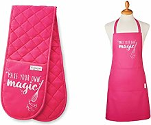 SiXsigma Sports Unisex Chefs Apron Double Oven