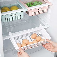 SJJZRR Kitchen Adjustable Stretchable Refrigerator