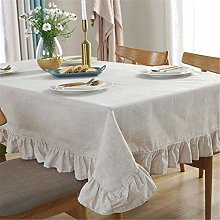 SJXCDZ Rectangle Decorative Table Cover, Pure