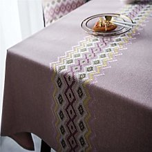 SJXCDZ Washable Table Cover Cloth, Pink tablecloth