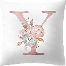SJYS 1 piece Cushion Cover 45x45 cm Englisch