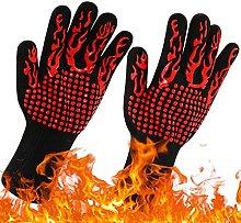 Sjzhdl 1PC Kitchen Fireproof Gloves Heat Resistant