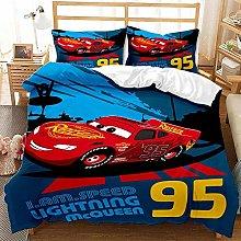 SK-YBB Disney Pixar Cars Bed Linen Duvet Cover –