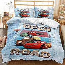 SK-YBB Disney Pixar Cars Bed Linen Duvet Cover –
