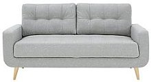 Skandi 3 Seater Fabric Sofa