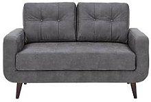 Skandi Faux Leather 2 Seater Sofa