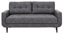 Skandi Faux Leather 3 Seater Sofa