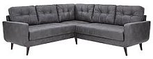 Skandi Faux Leather Corner Group Sofa