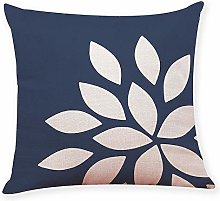 Skang Cushion cover dark blue style geometric