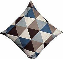 Skang Geometric triangle pattern square 45cm x