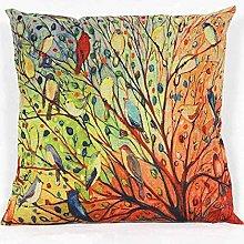 Skang Leisure wear tree flowers and birds flower