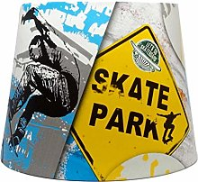 Skateboard Lampshade for Ceiling Light Shade Kids