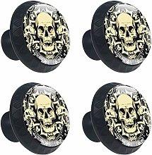 Skeletion Skulls Cabinet Door Knobs Handles Pulls
