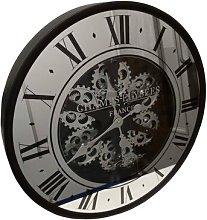 Skeleton Moving Gear Wall Clock Borough Wharf