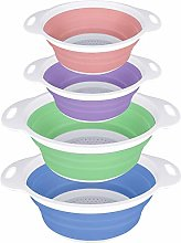 SKERITO 4-Sets Colorful Collapsible Kitchen