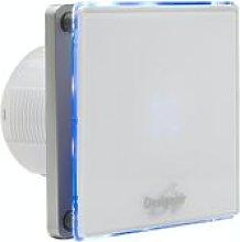 Skgl04-01 W Led White Glass Bathroom Fan