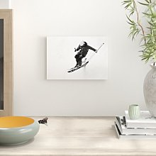 Skiing Photographic Print Big Box Art