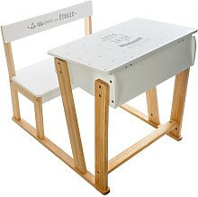 Skinner 79cm W Writing Desk and Chair Set Isabelle