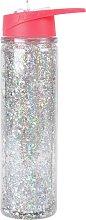Skinny Dip Pink Sparkle Water Bottle - 550ml
