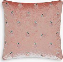 Skinnydip Peachy Cushion, Pale Pink