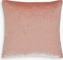 Skinnydip Plush Heart Cushion, Pink