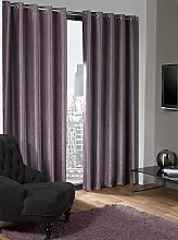 Skippys Lagon Eyelet Aubergine Purple Curtains