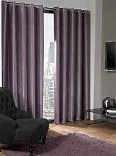 Skippys Lagon Eyelet Aubergine Purple Curtains