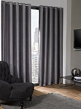 Skippys Lagon Eyelet Grey Silver Curtains Grey