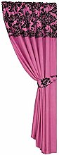 Skippys Single Panel Curtain Luxury Damask Curtain